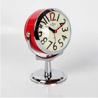 Vintage Alarm Clock - Suitable for tv console, bedside table or desk - New