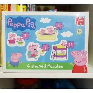 Peppa pig puzzles