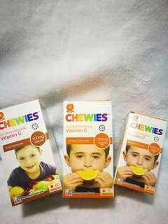 Children vitamin C tablet CHEWIES #XMas50