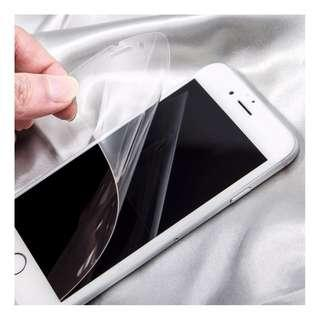 🚚 Soft Tempered Nano Explosion Proof Film Screen Protector for iPhone  & Samsung