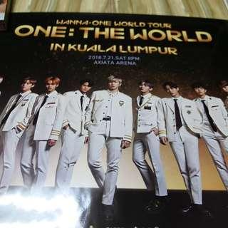 Wanna  One World Tour In KL Poster #XMAS50