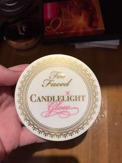 Too Faced Chocolate Gold and Candelight Glow