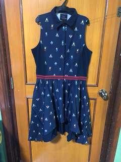 Plains & Prints Sleeveless Dress