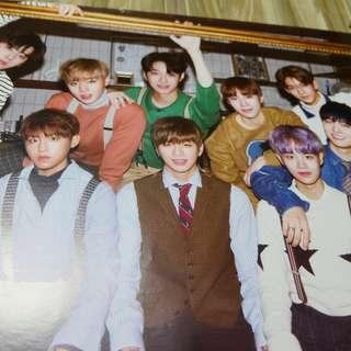 Wanna One Nothing Without You One ver Poster #XMAS50