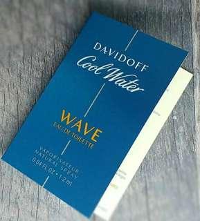 Vial Parfum Davidoff Cool Water Wave EDT For Men 1,2ml