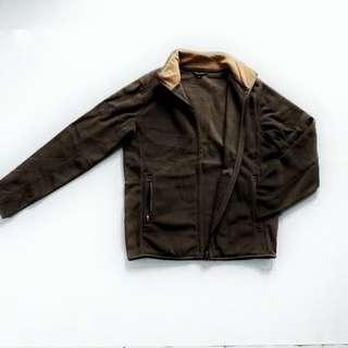 Jaket TopTen Soft Fleece Dark Brown