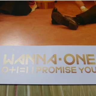 Wanna One I Promise You Day ver Poster #XMAS50