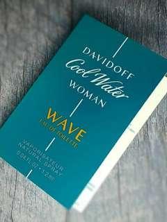 Vial Parfum Cool Water Wave Davifoff For Women EDT 1,2ml