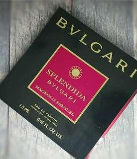Vial Parfum Bvlgari Splendida Magnolia Sensuel EDP 1,5ml For Women
