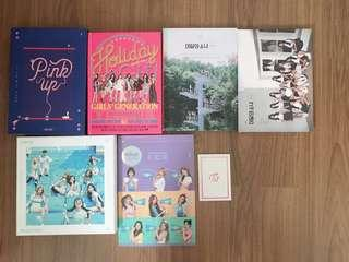 [WTS] GIRL GROUP ALBUMS CLEARANCE SALES