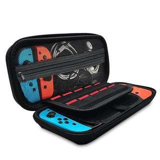 🚚 Nintendo Switch Hard Black Case Casing Protective Cover Bag