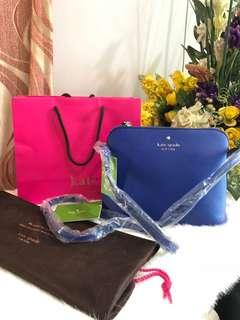 New with tag KATESPADE sling bag complete set