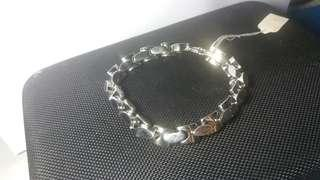 金色手鐲 LADIES GIRLS JEWELLERY BRACELET FASHION CHRISTMAS STOCKING FILLER STAINLESS STEEL