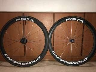 Pista Campagnolo Wheelset *  Cinelli    Engine 11   Mavic ellipse   rinpoch   hplusson   skream   aventon  Enve   fizik