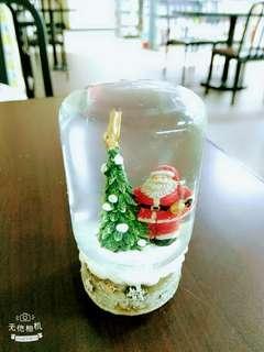 🚚 聖誕 老公公水晶球(原價280)元
