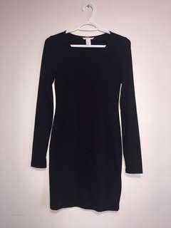 H&M Bodycon Black Dress