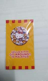 Hello Kitty Sanrio Badge with Pin #JAN55
