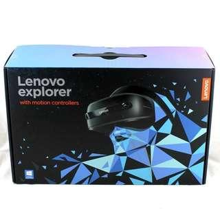New Lenovo Explorer with motion controllers