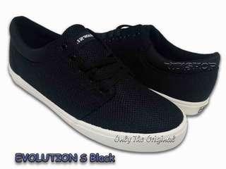 Sepatu AIRWALK EVOLUTION S. Black/Navy AIWX8F0606. Men. 100% Original BNIB