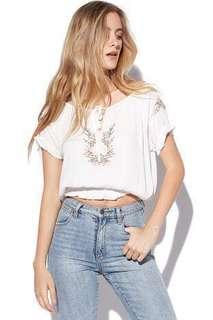 luck and trouble coachella top festival zara cmeo
