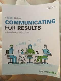 CMN279 4th Ed. Communication for Results
