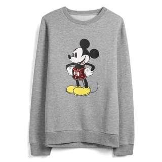 Disney Mickey Mouse Grey Sweatshirt