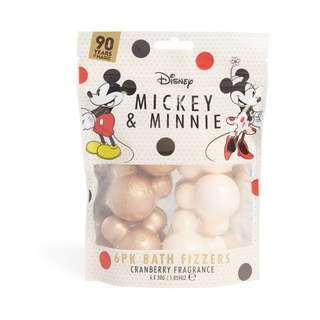 Disney Mickey And Minnie Mouse Bath Fizzers