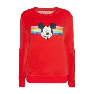 Mickey Mouse Velour Top