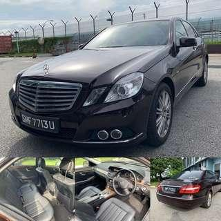 Mercedes-Benz undefined E200 Saloon Auto