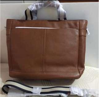 Coach Leather Utility Bag