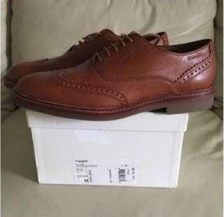 Coach leather shoe