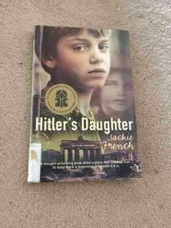 Hitlers daughter & assorted books