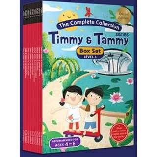 Special Edition TIMMY &TAMMY BOOKS BOX SET - LEVEL 1