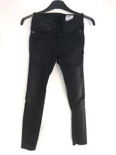 G-Star Ripped Skinny Black Jeans
