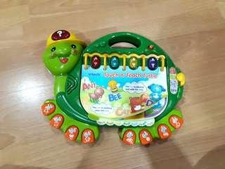 Vtech touch & learn turtle