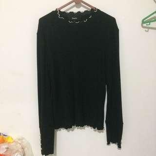 pomelo black shirt