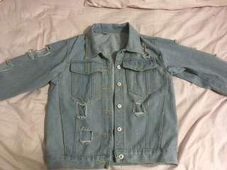 Light Oversize Denim Jacket