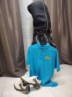 Complete Golf Set_ Free FootJoy Golf Shoes & MMO Shirt