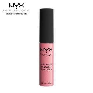 Nyx Professional Make Up Soft Matte Metallic Lip Cream -Milan