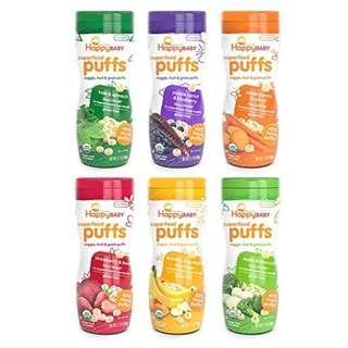 Nurture Inc. (Happy Baby), Organics, Superfood Baby Puffs