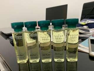 Tuscan Soul Shower Gel 50ml X 5