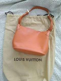 Authentic Louis Vuitton Mandarin Color Epi Leather handbag