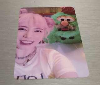 Sunny Holiday Night Photocard Official
