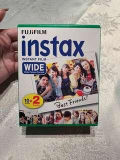 Instax Wide film - 20 sheets
