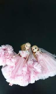 2 pcs doll key chain