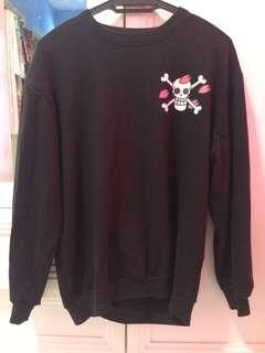 Sweatshirt one piece