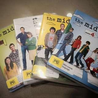 The Middle DVDs