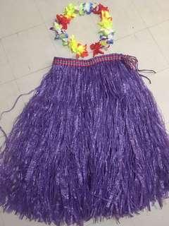 Grass Skirt (use once) For Sale or For Rent