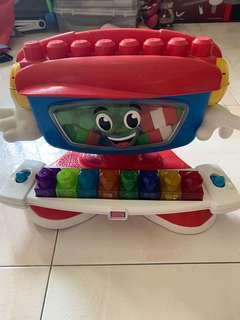 Preloved Mega Bloks Billy Beats Dancing Piano