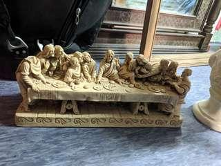Statue of the last supper